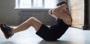 腹筋トレーニング:クランチ