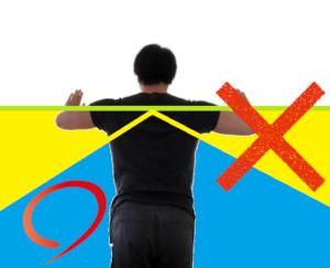 正しい腕立て伏せの手幅,肘の角度