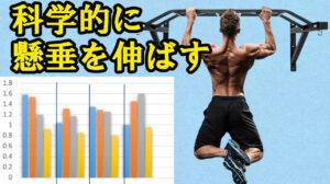 【背中広がり最強種目】懸垂の力を科学的に伸ばす筋トレメニュー