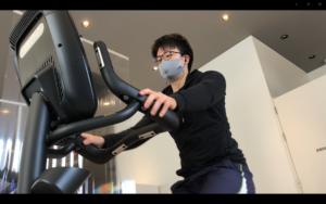 有酸素運動マシンでコア体温を上げる